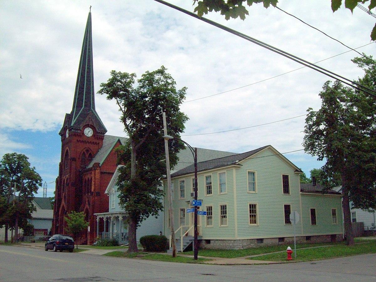 Market Street Historic District Buffalo New York