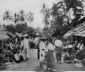 Market in Luang Prabangpre 1900