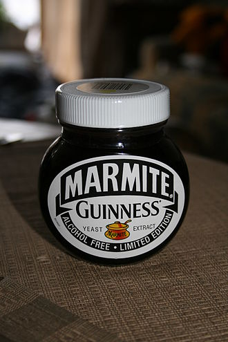 Marmite - Limited edition Guinness Marmite.