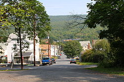 Marshallton, Pennsylvania streetscape