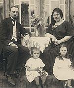 Mart Saar perega (1922)