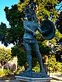 Marte guerriero, nel giardino delle terme di Diocleziano - panoramio.jpg