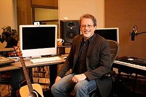 Michael Salvatori - Salvatori in his studio