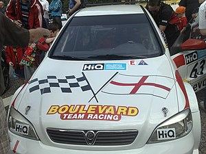 BTC Touring - Image: Martin Johnson Vauxhall Astra