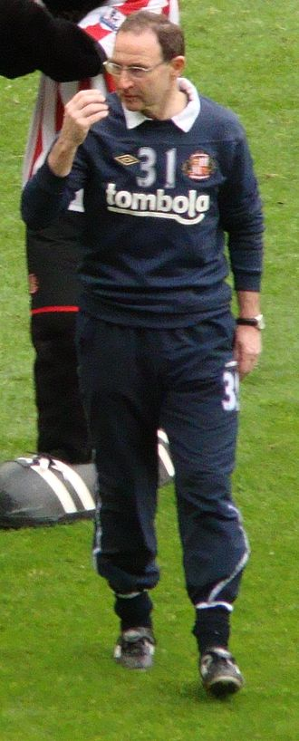 Martin O'Neill - O'Neill as Sunderland manager in 2012