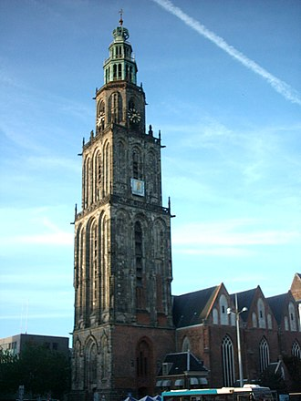Groningen - Martini Tower