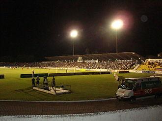 São José Esporte Clube - Martins Pereira stadium at night