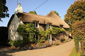 English: Mary Wesley's cottage The cottage whe...