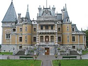 The Massandra Palace near Yalta is one of the official residences of Ukraine.