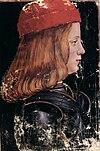 Massimiliano Sforza by G.A. de Predis (Donatus Grammatica)