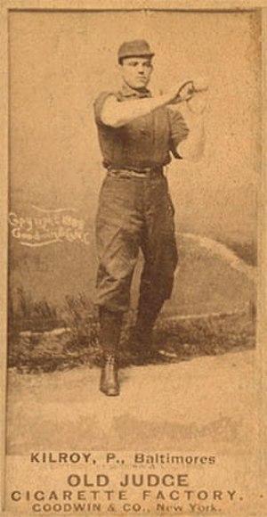 Matt Kilroy - Baseball card of Kilroy