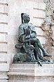 Matthias Fountain, detail, Statue of a falconer (16935825617).jpg