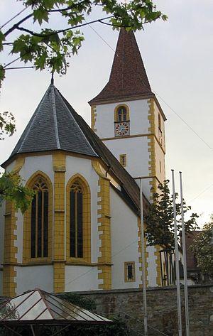 Holzgerlingen - Mauritius Church in Holzgerlingen