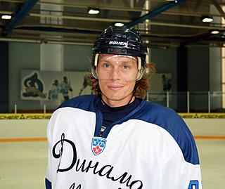 Maxim Afinogenov Russian ice hockey player