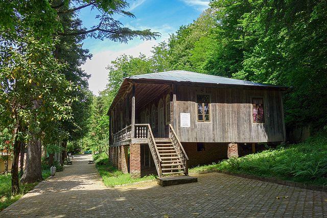 Дом, где родился Маяковский