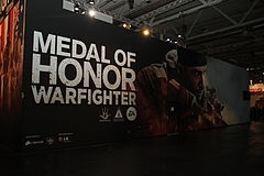 Medal of honor warfighter gamescom 2012 cologne germany.jpg