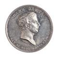 Medalj, 1837 - Skoklosters slott - 110782.tif