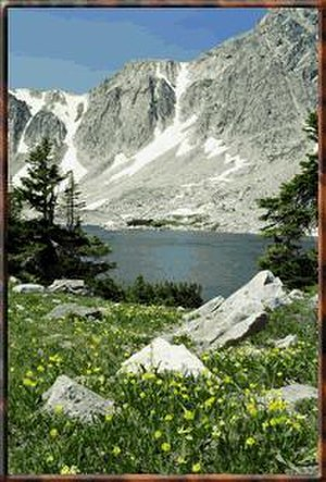Medicine Bow – Routt National Forest - The Snowy Range in Medicine Bow - Routt National Forest