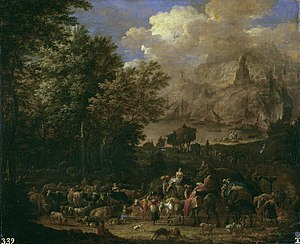 Jan Baptist van der Meiren - The Journeys of Jacob