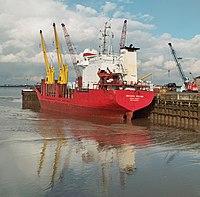 Mekhanik Pyatlin at New Holland Dock - IMO 8904434 (4362064327).jpg