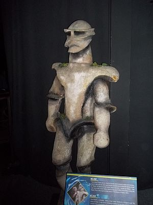 The Keeper of Traken - Melkur, as shown at the Doctor Who Experience.