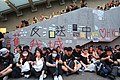 Memorial for the suicided protester near CGO 20190616.jpg