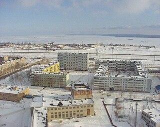Mendeleyevsk Town in Tatarstan, Russia