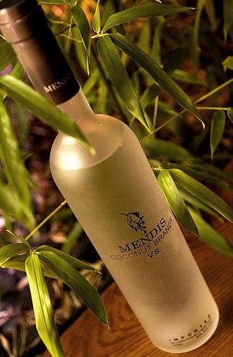 Coconut brandy - Mendis coconut brandy