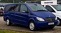 Mercedes-Benz Viano Lang CDI 2.2 Trend (V 639) – Frontansicht, 8. September 2013, Bösensell.jpg
