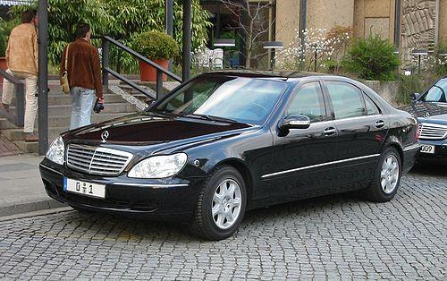 Mercedes Benz W220 nuevo Clase S tarde Parrilla No Original