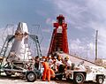 Mercury capsule--'Mercury binder; 113D; MA-8; 9-10-62; erection spacecraft Sig 7 (16093612961).jpg