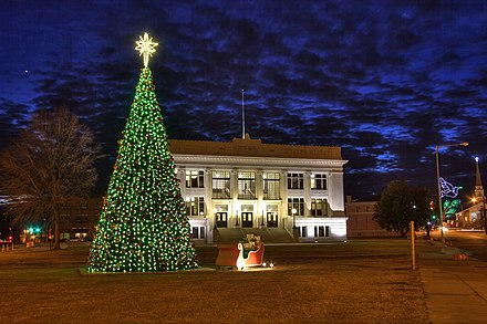 Meridian City Hall Christmas 2011.jpg
