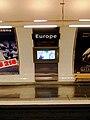 Metro de Paris - Ligne 3 - Europe 04.jpg