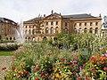Metz Opera-theatre facade parterre floral 2012.jpg