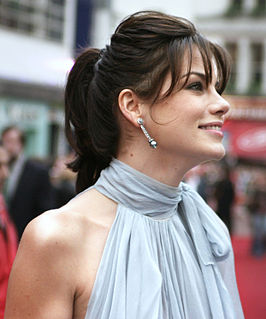 Michelle Monaghan bij de première van Mission: Impossible III in Londen, april 2006