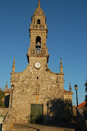 Carballedo - Saint Michael's church, Carballedo