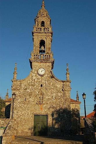 Carballedo - Saint Michael's church, Carballedo