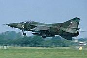 Mikoyan-Gurevich MiG-23UB, Czech Republic - Air Force AN0704751