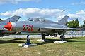 Mikoyan MiG-21U-600 '2720' (13455814034).jpg