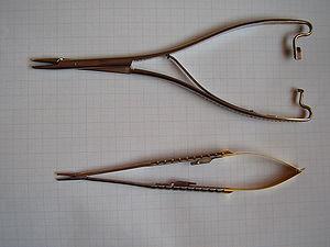 Needle holder - Two needle holders.