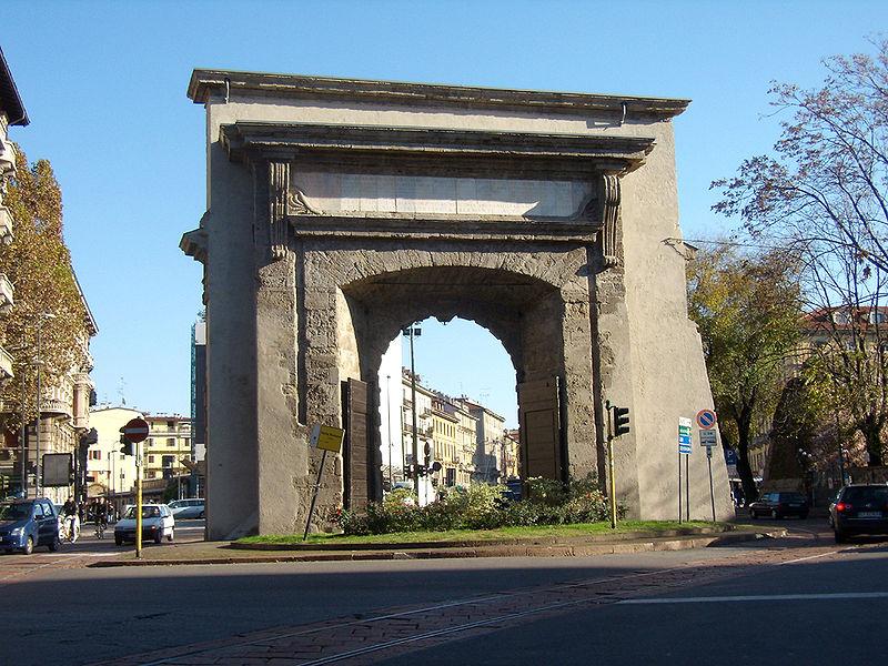 File milano porta romana retro jpg wikimedia commons - Stanza singola milano porta romana ...