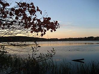 Westborough, Massachusetts - Mill Pond at sunset