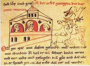 Millstätter Genesis - Arche Noah