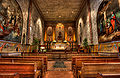 Mission Santa Barbara chapel interior.jpg