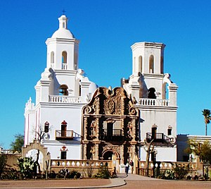 Mission San Xavier del Bac - Image: Missiona