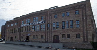 Mitchell (automobile) - Image: Mitchell Lewis Building