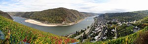Rhine Gorge - Middle rhine valley nearby Oberwesel