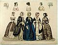 Modeplansch ur Stockholms Modejournal, 1845 - Nordiska Museet - NMA.0032518.jpg
