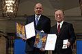 Mohamed ElBaradei & Yukiya Amano - Noble prize.jpg