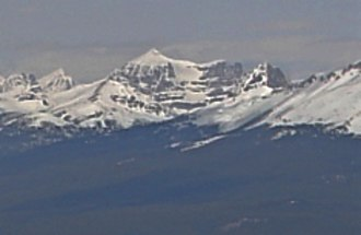 Monarch Mountain (Alberta) - Image: Monarch Mountain from The Whistlers